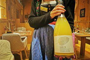 Flasche Gourmet Apfelsaft vom Berg